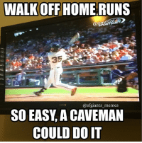 Bcraw with the walkoff in the 10th! sfgiants sanfranciscogiants giants sfg brandoncrawford bcraw mlb johnstamos splashhit homerun: WALKOFF HOME RUNS  Comcast  35  (a giants memes  SO EASY A  CAVEMAN  COULD DO IT Bcraw with the walkoff in the 10th! sfgiants sanfranciscogiants giants sfg brandoncrawford bcraw mlb johnstamos splashhit homerun