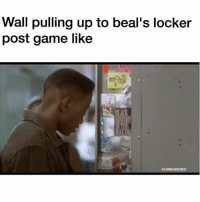 😂😂😂 (via smoothsparks-Twitter) nbamemes nba wizards beal: Wall pulling up to beal's locker  post game like  IG: GNBAMEMES 😂😂😂 (via smoothsparks-Twitter) nbamemes nba wizards beal