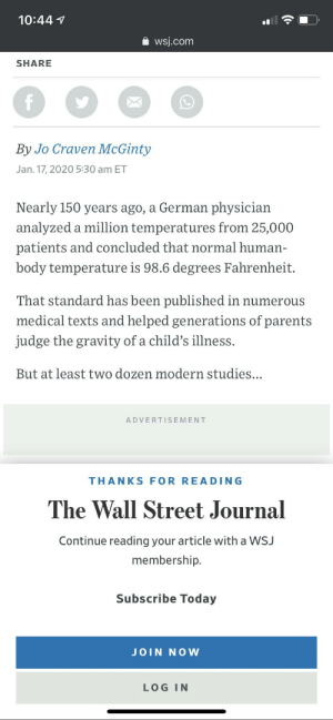 Wall Street journal doesn't even let you read the actual article, just the first few paragraphs that are completely useless. (Can't even scroll any further): Wall Street journal doesn't even let you read the actual article, just the first few paragraphs that are completely useless. (Can't even scroll any further)
