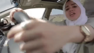 Driving, Love, and Post Malone: wallofdis: vanitysgrace:   goldensweetcheeks:  snellyboi:   localstarboy: Saudi Arabia gave women permission to drive and this is the first thing they do 😭 This shit's harder than ANY post malone track   Somebody on twitter called her SaudiB    This track is hard    I saw that someone who speaks Arabic took a stab at translating it and it turns out she's basically doing a PSA about safe driving rules and I fell in love