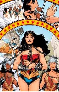 "Earth, Wallpaper, and Wonder Woman: [Wallpaper] ""Diana surrenders to the Amazons"" from Wonder Woman: Earth One by Grant Morrison, art by Yanick Paquette."