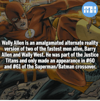 Wally Allen! - My other IG accounts @factsofflash @yourpoketrivia @webslingerfacts ⠀⠀⠀⠀⠀⠀⠀⠀⠀⠀⠀⠀⠀⠀⠀⠀⠀⠀⠀⠀⠀⠀⠀⠀⠀⠀⠀⠀⠀⠀⠀⠀⠀⠀⠀⠀ ⠀⠀--------------------- batmanvssuperman xmen batman superman wonderwoman deadpool spiderman hulk thor ironman marvel greenlantern theflash wolverine daredevil aquaman justiceleague homecoming infinitywar wallyallen wallywest redhood avengers jasontodd blackpanther tomholland nightwing like4like cheetah: Wally Allen is an amalgamated alternate reality  version of two of the fastest men alive, Barry  Allen and Wally West. He was part of the Justice  Titans and only made an appearance in #60  and #61 of the Superman/Batman crossover. Wally Allen! - My other IG accounts @factsofflash @yourpoketrivia @webslingerfacts ⠀⠀⠀⠀⠀⠀⠀⠀⠀⠀⠀⠀⠀⠀⠀⠀⠀⠀⠀⠀⠀⠀⠀⠀⠀⠀⠀⠀⠀⠀⠀⠀⠀⠀⠀⠀ ⠀⠀--------------------- batmanvssuperman xmen batman superman wonderwoman deadpool spiderman hulk thor ironman marvel greenlantern theflash wolverine daredevil aquaman justiceleague homecoming infinitywar wallyallen wallywest redhood avengers jasontodd blackpanther tomholland nightwing like4like cheetah