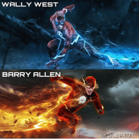 Batman, Memes, and Superman: WALLY WEST  BARRY ALLEN  G DO NATION Force of nature! Art by the legend @bosslogic ! dc dccomics dceu dcu dcrebirth dcnation dcextendeduniverse batman superman manofsteel thedarkknight wonderwoman justiceleague cyborg aquaman martianmanhunter greenlantern theflash greenarrow suicidesquad thejoker harleyquinn comics injusticegodsamongus
