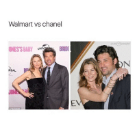 Memes, Walmart, and Chanel: Walmart vs chanel  ONES'S BABY  UNIV  RSAL YES greysanatomy
