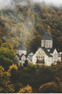 Tumblr, Blog, and Http: wanderlusteurope:  Haghartsin is a 13th-century monastery located near the town of Dilijan in the Tavush Province of Armenia.