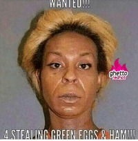 """Ghetto, Http, and Strong: WANIED!  ghetto  edhot  4 STEALING GREEN EGGS& HAMI <p><strong>Green eggs and ham</strong></p><p><a href=""""http://www.ghettoredhot.com/stealing-green-eggs-and-ham/"""">http://www.ghettoredhot.com/stealing-green-eggs-and-ham/</a></p>"""