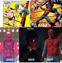 The homemade suit from Spider-Man: Homecoming also resembles the proto Ultimate Spider-Man suit - via @aabccosplays - spiderman amazingspiderman2 cosplay marvelcomics marvel mcu marvelcinematicuniverse captainamericacivilwar civilwar christmas emmastone tobeymaguire thor chrishemsworth captainamerica chrisevans ironman robertdowneyjr tomholland avengers book film filmmaking behindthescenes newyork location spidermanHomecoming comics marvelcosplay homecoming: WANNA BET?  YOU-- YOU'RE  HUMAAL  NOBODY  DO THAT!  2002.  Caabccosplays  20)2. The homemade suit from Spider-Man: Homecoming also resembles the proto Ultimate Spider-Man suit - via @aabccosplays - spiderman amazingspiderman2 cosplay marvelcomics marvel mcu marvelcinematicuniverse captainamericacivilwar civilwar christmas emmastone tobeymaguire thor chrishemsworth captainamerica chrisevans ironman robertdowneyjr tomholland avengers book film filmmaking behindthescenes newyork location spidermanHomecoming comics marvelcosplay homecoming
