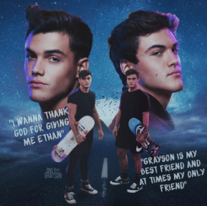 """Best Friend, Click, and Cute: """"WANNA THANK  GOD FOR GIVING  ME ETHAN""""  ONLY  GRAYSON  """"GRAYSON IS MY  BEST FRIEND AND  AT TIMES MY 0NLY  FRIEND""""  mgs Do you want to buy Dolan Twins T Shirts. Click the link. - Dolan Twins Tshirts Shirts Women Meet and Greet Lockscreen Wattpad wallpaper tattoos the art edits imagine aesthetic funny twins facts hilarious videos tweets drawing background funny shirtless grayson fanfiction funny quotes with fans shirtless ethan pictures 2018 smiling twitter gif imagines quiz love tattoo fanfiction memes tumblr cute dirty Black t-shirts White T-shirt Tee Tees Womens"""