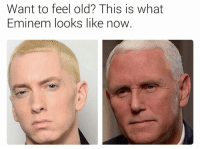 Eminem, Memes, and Old: Want to feel old? This is what  Eminem looks like now