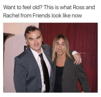 Damn time flies.: Want to feel old? This is what Ross and  Rachel from Friends look like now Damn time flies.