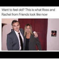 Crying at this 😂😭 Follow @thesassbible @thesassbible @thesassbible @thesassbible: Want to feel old? This is what Ross and  Rachel from Friends look like now Crying at this 😂😭 Follow @thesassbible @thesassbible @thesassbible @thesassbible