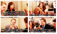 I love this episode. HIMYM: want to get tiny fitted sheets  rtor this burger, andjust Crawltnto  ED  this bun, get all cosy, and die there  Oh, my God.I just want you inside of me  This feels so good  m worried m gonna  f he does get that burger pregnant,  have dibs on the delicious burger babies  get thisburger pregnant I love this episode. HIMYM