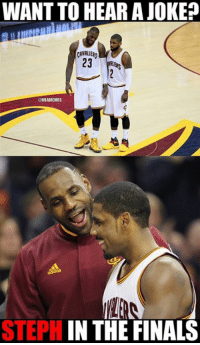 Nba, Nationals, and Hearing: WANT TO HEAR A JOKE  CAVALIER  23  NBAMEMES  STEPH  IN THE FINALS Cavs Nation vs. Warriors Nation.