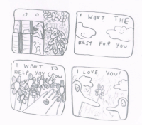 Love, Bes, and You: WANTTH  BES FOR you  WANT TO  LOVE You