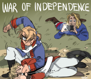 Target, Tumblr, and Blog: WAR OF INDEPENDENE faiyx:  i pissed myself 5 times while drawing this Keep reading