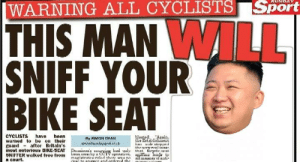 https://t.co/mo9yyPAVVZ: |WARNING ALL CYCLISTS Sport  THIS MAN WILL  SNIFF YOUR  BIKE SEAT  CYCLISTS hava hoan  warned to be on their  guard - aftor Britain's  movt notorious BIKE-SEAT  BNIFFER walked free trom  a court.  WargedAalis.  he atablialent  My XIMCON DHAN  thnvnry wal ininin  Dui'y arviun hud wly that hiryrle nnn  an s lay CCTV upmtive,  magiutratra riled there waa ni  COIC to onawer and ordercd the  ilfina eada  all mane ofanti https://t.co/mo9yyPAVVZ