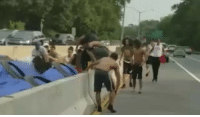 Memes, New York, and The Middle: WARNING - DISTURBING VIDEO: Bronx, New York A 14-year-old boy was stabbed multiple times by a group of suspects in the middle of a highway. The whole thing was captured on video. @unclesamsmisguidedchildren