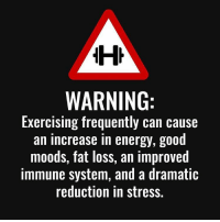 Gym, Immune System, and Fat Loss: WARNING:  Exercising frequently can cause  an increase in energy, good  moods, fat loss, an improved  immune system, and a dramatic  reduction in stress. So, what are you waiting for? . @DOYOUEVEN - Use DYE10 to save 10% OFF STOREWIDE 🎉✔️ link in BIO 🌏