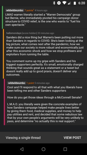 Warren thinking about laws is actually better than real support Sanders campaign gave. The liberal brain is something else.: Warren thinking about laws is actually better than real support Sanders campaign gave. The liberal brain is something else.