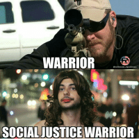 Memes, Millennials, and 🤖: WARRIOR  @millennial republicans  SOCIALJUSTICEWARRIOR They should change their name to Social Justice Whiners... chriskyle . .🇺🇸 ALL WATERMARKED MEMES ARE WRITTEN BY MILLENNIAL REPUBLICANS BUT WE DO NOT OWN THE PHOTOS WITHIN THE MEMES🇺🇸 MAGA millennialrepublicans donaldtrump merica ronaldreagan notmymarch makeamericagreatagain liberallogic hillaryforprison trumppence2016 trumptrain presidenttrump PARTNERS🇺🇸 @conservative_comedy_ @always.right @too_savage_for_liberals @ny_conservative1776 @rebelrepublican @conservativemovement @conservative.american