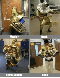 Choose your class: Warrior  Monk  Heavy Gunner  Mage Choose your class