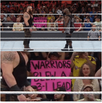 Meanwhile, at the Royal Rumble...: WARRIORS  WARRIORS  LIVE Meanwhile, at the Royal Rumble...