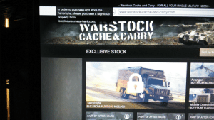 Bank, Cache, and Mobile: Warstock Cache and Carry - FOR ALL YOUR ROGUE MILITARY NEEDS  In order to purchase and store the  Terrorbyte, please purchase a Nightclub  property from  foreclosures.maze-bank.com.  www.warstock-cache-and-carry.com  WARSTOCIK  CACHE&CARRY  EXCLUSIVE STOCK  Sort by Pr  Avenger  BUY FROM: $3,450,  Terrorbyte  BUY FROM: $1,C75,000 $825,000  Mobile Operations  BUY FROM: $1,225,0C  PART OF AFTER HOURS  PART OF AFTER HOURS  PART OF AFTER HOU Why is the Nightclub a requirement for this thing? If it wasn't for that I would grind the remaining amount I need. (200k) The cheapest nightclub there is with the sale I could afford but then I it puts a gap in how much I'll need for the terrorbyte.