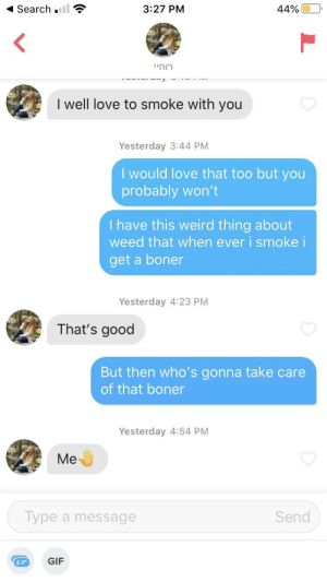 Was expecting an unmatch to be honest: Was expecting an unmatch to be honest