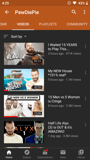 Was gonna sleep but pewds uploaded his first video of today.So I watched it and was going to sleep again and boom,papa pewds posted again..never mind i watched that too.But no no no...I am not gonna be able to sleep tonight you freaking God of YouTube,freak you and freak your awesome videos 😤: Was gonna sleep but pewds uploaded his first video of today.So I watched it and was going to sleep again and boom,papa pewds posted again..never mind i watched that too.But no no no...I am not gonna be able to sleep tonight you freaking God of YouTube,freak you and freak your awesome videos 😤