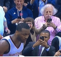 Albert Einstein, Memes, and Einstein: was John Wall's shot was so clutch that Albert Einstein used his time travel technology to come witness it. https://t.co/RBU3JsMVXV
