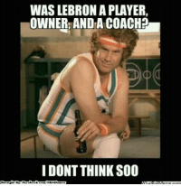 LeBron's The Best? Think Again.