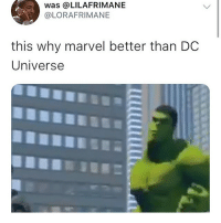 Funny, Goals, and Love: was @LILAFRIMANE  @LORAFRIMANE  this why marvel better than DC  Universe Black Lightning still would take all these niggas out @larnite • ➫➫➫ Follow @Staggering for more funny posts daily! • (Ignore: memes like4like funny music love comedy goals fortnite)