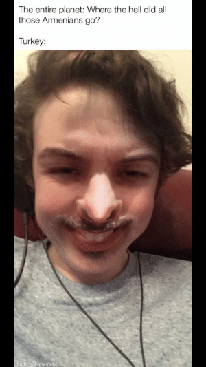 Was messing about with the Snapchat filter that uses your photos in your gallery to swap your face with someone's in a picture; I got this: Was messing about with the Snapchat filter that uses your photos in your gallery to swap your face with someone's in a picture; I got this