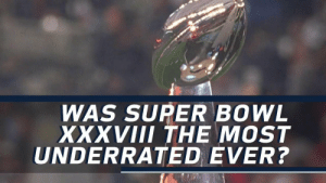 The most underrated @SuperBowl EVER? (via @HarrisonNFL + @nflthrowback) @patriots @panthers #NFL100 https://t.co/SbLricp4VY: WAS SUPER BOWL  XXVIII THE MOST  UNDERRATED EVER? The most underrated @SuperBowl EVER? (via @HarrisonNFL + @nflthrowback) @patriots @panthers #NFL100 https://t.co/SbLricp4VY