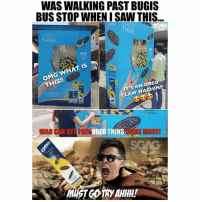 Memes, Omg, and Saw: WAS WALKING PAST BUGIS  BUS STOP WHENI SAW THIS  A THINS  OREO  THINS  OMG WHAT IS  THIS!!  FLAVOUR  T'S AN OREO  CLAW MACHINE  DELIGNTFUL  THIN TWIST  WAR CAN GET FREE  OREO THINS  SOM  E MORE  MUST COTRYAHHH! Wah now @OREO also got claw machine ah? That's it, I'm coming for you! oreo oreothins sp
