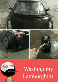 RT @Hilarious_Idiot: https://t.co/O96fjz56wS: Washing my  Lamborghini RT @Hilarious_Idiot: https://t.co/O96fjz56wS
