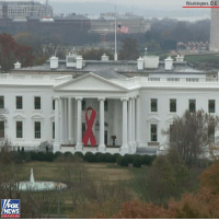 The White House flies its flag half-staff in honor of former President George H.W. Bush.: Washington, D.C.  FOX  EWS  chan nol The White House flies its flag half-staff in honor of former President George H.W. Bush.