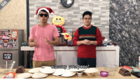 """Xiao Ming and Bobby go head to head to make the """"perfect"""" logcake for Christmas! Watch the full video on our Youtube channel (OfficialSGAGtv) and Facebook page! boneappletea: wassup everyone! Xiao Ming and Bobby go head to head to make the """"perfect"""" logcake for Christmas! Watch the full video on our Youtube channel (OfficialSGAGtv) and Facebook page! boneappletea"""