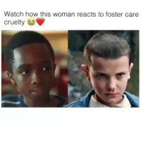 Memes, Wshh, and Watch: Watch how this woman reacts to foster care  cruelty Its a social experiment Follow @masselor for more TURN ON POST NOTIFICATIONS socialexperiment wshh