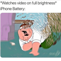 Ass, Iphone, and Phone: *Watches video on full brightness*  iPhone Battery:  IG:Newtock What phone should I get, my ass still has a iPhone 6s