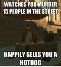 Stupid or capitalistic? - FOLLOW @the_lone_survivor for more - - PS4 xboxone tlou Thelastofus fallout fallout4 competition competitive falloutmemes battlefield1 battlefield starwars battlefront game csgo counterstrike gaming videogames funny memes videogaming gamingmemes gamingpictures dankmemes recycling csgomemes cod: WATCHES YOU MURDER  15 PEOPLE IN THE STREET  HAPPILY SELLS YOUA  HOTDOG Stupid or capitalistic? - FOLLOW @the_lone_survivor for more - - PS4 xboxone tlou Thelastofus fallout fallout4 competition competitive falloutmemes battlefield1 battlefield starwars battlefront game csgo counterstrike gaming videogames funny memes videogaming gamingmemes gamingpictures dankmemes recycling csgomemes cod