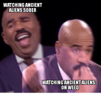 """Is it pawwwsible that some koind of rocketship came from another dimension? Ancient astronaut theorists say """"yes"""".: WATCHING ANCIENT  ALIENS SOBER  WATCHING ANCIENTALIENS  ON WEED Is it pawwwsible that some koind of rocketship came from another dimension? Ancient astronaut theorists say """"yes""""."""