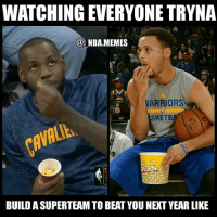 Fr! 😂👀 Everyone's making all these crazy moves trying to build superteams but the Cavs & Warriors are just chillin 💀 The funny thing is that it's probably still gonna be Warriors vs Cavs next season in the Finals? 😳 Who do you think will make the Finals next season?? Comment your thoughts below 👌 Double tap and tag some friends below! 👍⬇: WATCHING EVERYONE TRYNA  @NBA.MEMES  VARRIORS  SKETB  BUILD A SUPERTEAM TO BEAT YOU NEXT YEAR LIKE Fr! 😂👀 Everyone's making all these crazy moves trying to build superteams but the Cavs & Warriors are just chillin 💀 The funny thing is that it's probably still gonna be Warriors vs Cavs next season in the Finals? 😳 Who do you think will make the Finals next season?? Comment your thoughts below 👌 Double tap and tag some friends below! 👍⬇