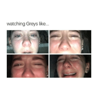 Denny's, Memes, and 🤖: watching Greys like... Me when George, Denny, Derek, mark, and Lexie died greysanatomy