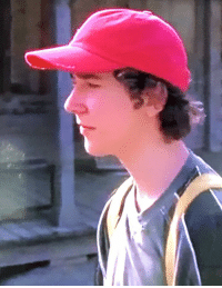 Watching Holes with my kid. Caught Shia LaBeouf wearing the MAGA hat before it was cool.: Watching Holes with my kid. Caught Shia LaBeouf wearing the MAGA hat before it was cool.