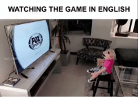 Spanish, The Game, and Ugly: WATCHING THE GAME IN ENGLISH  OR  UGLY Watching the World Cup in English vs Spanish...⚽️📺😂 @UglyPrimo https://t.co/WIpUccowYP