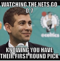 😎😎😎😎😎😎😎😎😎: WATCHING THE NETS GO  acelnics  KNOWING YOU HAVE  THEIR FIRST ROUND PICK 😎😎😎😎😎😎😎😎😎