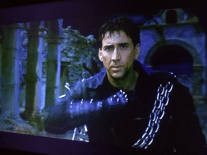 Watching The one true God in Ghost Rider, a classic cinematic experience.: Watching The one true God in Ghost Rider, a classic cinematic experience.