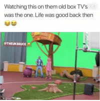 Who remembers this show?😂: Watching this on them old box TV's  was the one. Life was good back then  @THEUKSAUCE Who remembers this show?😂