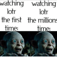 (y) Fantasy and Sci-Fi Rock My World: watching watching  lotr  lotr  the first the millions  time:  time: (y) Fantasy and Sci-Fi Rock My World